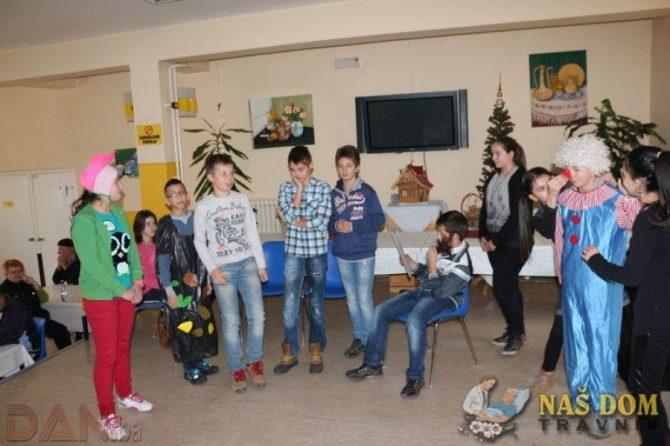 Posjeta učenika iz Viteza i Travnika u povodu Božića