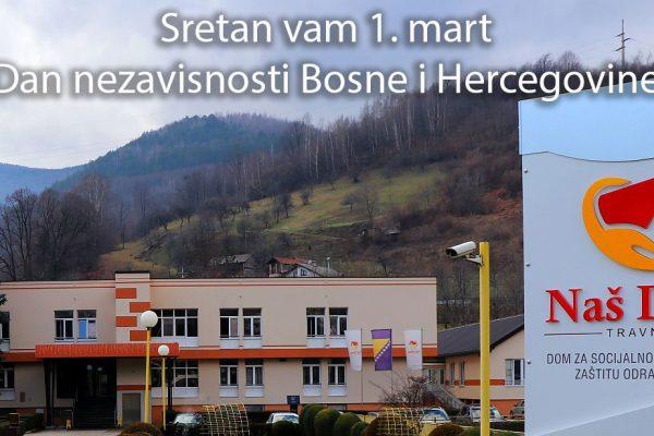 Sretan vam Dan nezavisnosti Bosne i Hercegovine