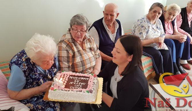 U srijedu smo obilježili 99. rođendan naše teta Ane