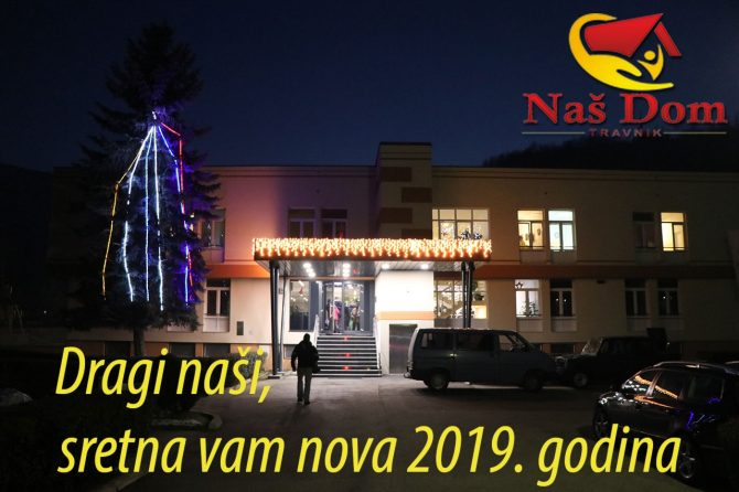 Dragi naši, sretna vam Nova godina!