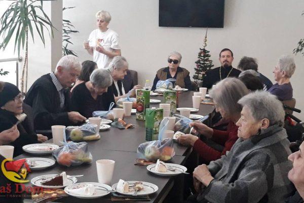 FOTO: U povodu pravoslavnog Božića i Nove godine nas je posjetio paroh Goran Živković